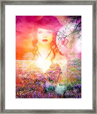Memory Of Her Framed Print by Diana Riukas