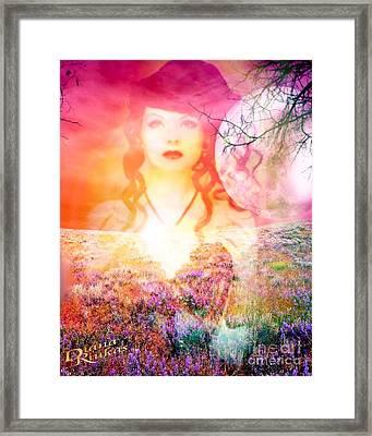 Memory Of Her Framed Print