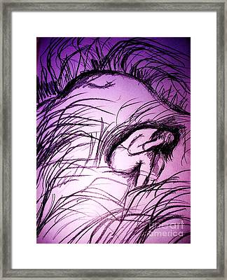 Memory Of Isolation Framed Print by Esther Rowden