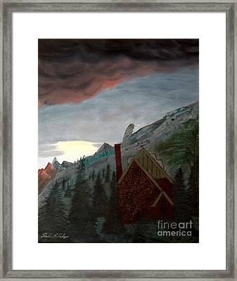 Memory Of Jonbenet Ramsey Framed Print by Stephen Schaps