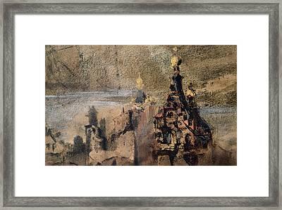 Memory Of Spain Framed Print by Victor Hugo