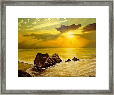 Memory Of Summer Framed Print by Svetla Dimitrova