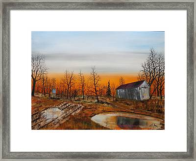 Memory Reflections Framed Print by Jack G  Brauer