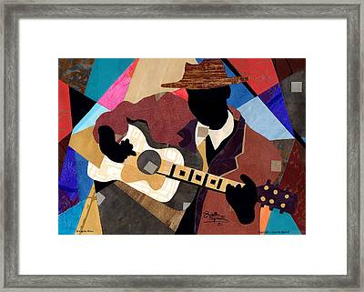 Memphis Blues Framed Print by Everett Spruill