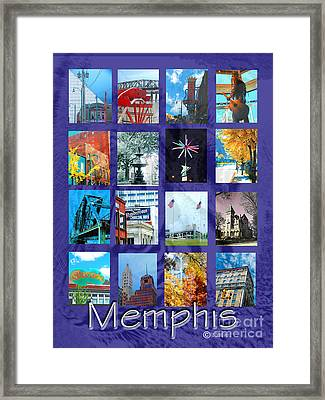 Memphis Framed Print by Lizi Beard-Ward