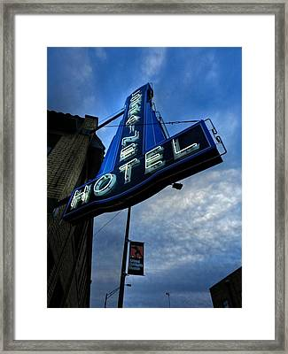 Memphis - Lorraine Motel 002 Framed Print by Lance Vaughn