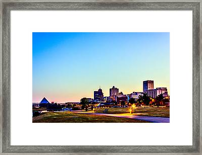 Memphis Morning - Bluff City - Tennessee Framed Print