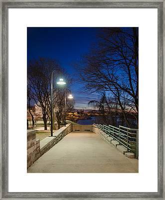 Memphis Riverfront Framed Print