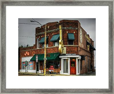Memphis - Sun Studio 003 Framed Print by Lance Vaughn