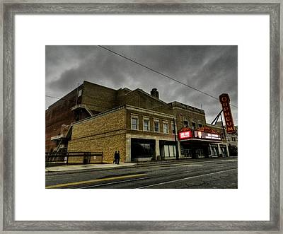 Memphis - The Orpheum 001 Framed Print by Lance Vaughn