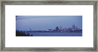 Memphis Tn Framed Print by Panoramic Images
