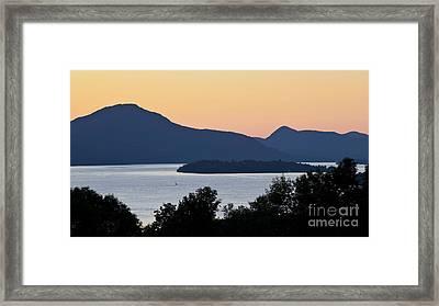 Memphremagog Twilight Framed Print