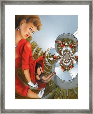Men At Work Framed Print by Nico Bielow