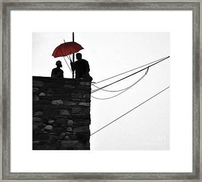 Men At Work Framed Print by Simona Ghidini