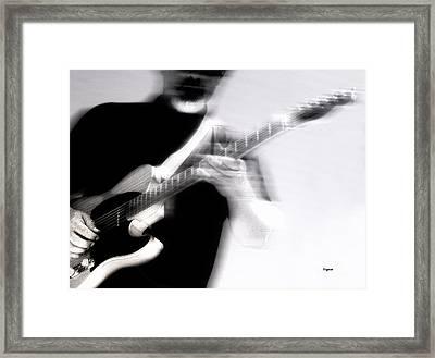 Men Who Play Framed Print by Steven Digman