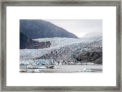 Mendenhall Glacier 1 Framed Print