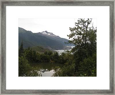 Mendenhall Glacier 2. Alaska Framed Print