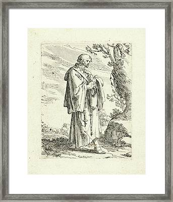 Mendicant, Andries Both Framed Print by Andries Both