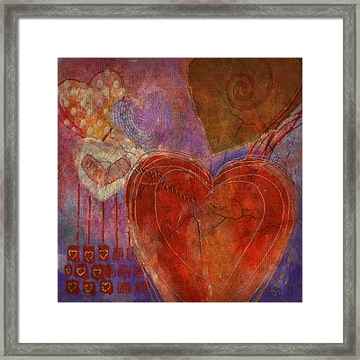 Framed Print featuring the digital art Mending A Broken Heart by Arline Wagner