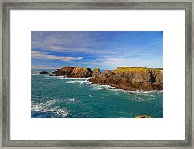 Mendocino Coast Framed Print by Joe Fernandez