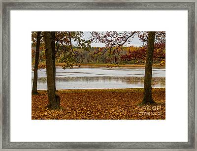 Mendon Ponds Framed Print