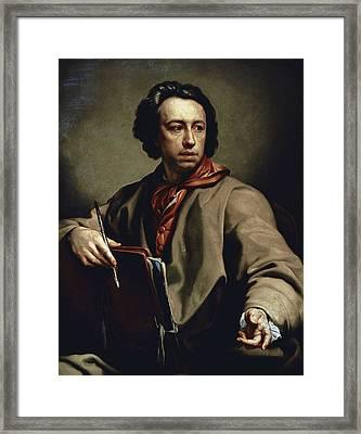 Mengs, Anton Raphael 1728-1779 Framed Print