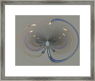 Menorah Series 10 Framed Print