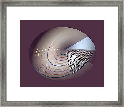 Menorah Series 9a Framed Print