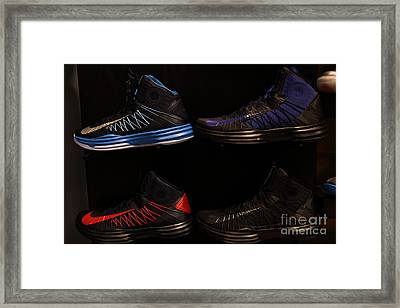 Men's Sports Shoes - 5d20654 Framed Print by Wingsdomain Art and Photography