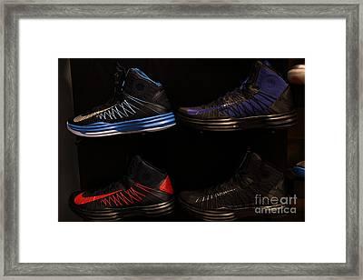 Men's Sports Shoes - 5d20654 Framed Print