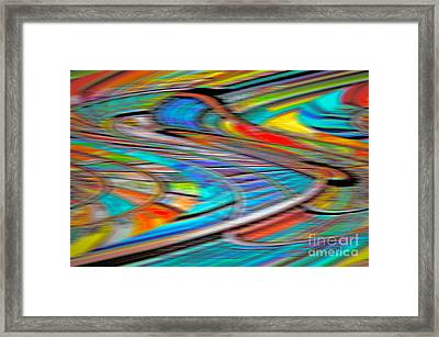 Mental Bets Framed Print by Gwyn Newcombe