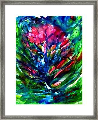 Mental Energy. Framed Print