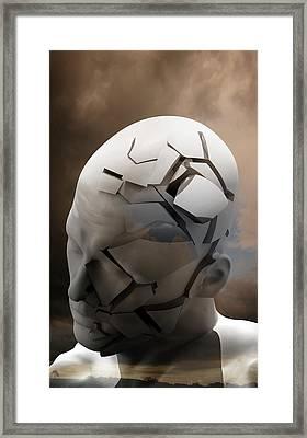 Mental Health Degeneration Framed Print