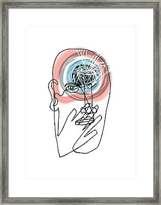 Mental Health Framed Print by Paul Brown