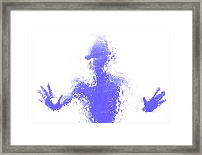 Mental Health Problems Framed Print