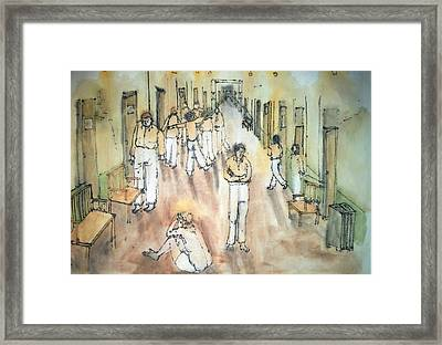 Mental Illness Album Framed Print by Debbi Saccomanno Chan
