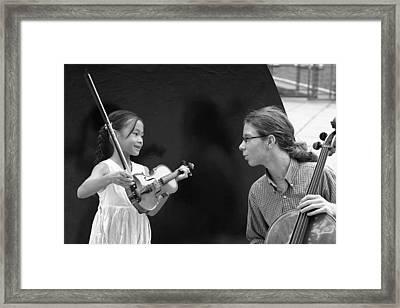 Mentoring Framed Print by Joe Longobardi