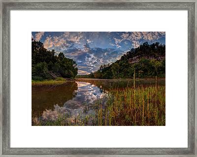 Meramec River  Framed Print by Robert Charity