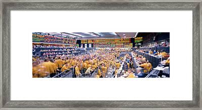 Mercantile Exchange, Trading, Chicago Framed Print