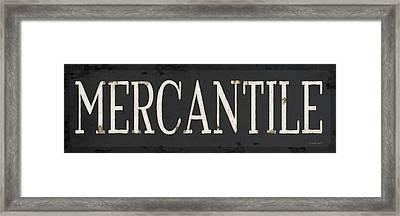 Mercantile Framed Print