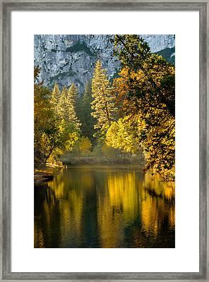Merced Colors Framed Print