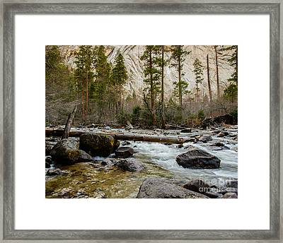 Merced River From Happy Isles 2 Framed Print