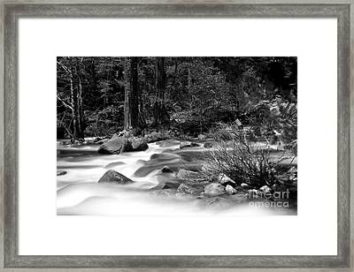 Merced River Framed Print by Jason Abando