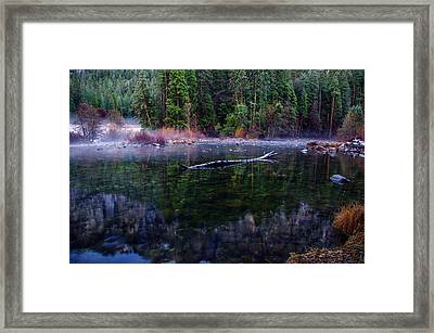 Merced River Riverscape Framed Print by Scott McGuire