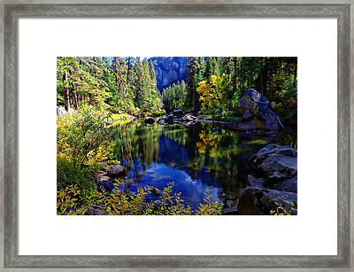 Merced River Yosemite National Park Framed Print