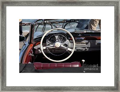 Mercedes 190 Sl 5d21650 Framed Print by Wingsdomain Art and Photography