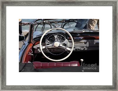 Mercedes 190 Sl 5d21650 Framed Print