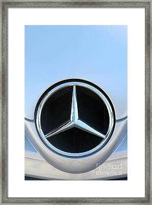 Mercedes - 5d20973 Framed Print by Wingsdomain Art and Photography
