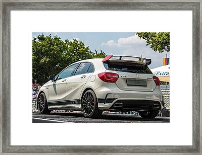 Mercedes A-class Amg 45 As Atp Trophy In Stuttgart - Germany Framed Print by Frank Gaertner