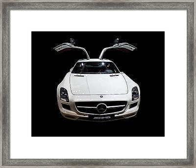 Mercedes Amg Framed Print